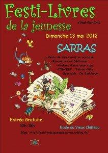 Voici l'affiche du Festi-livres de la jeunesse 2012 affiche-avec-dessin-illustrateur-212x300